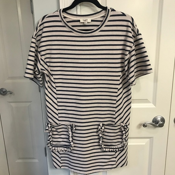05db74c0d6ff Hayden Los Angeles Dresses | Hayden La Striped Sweatshirt Dress ...